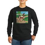 Farm Horse Long Sleeve Dark T-Shirt
