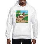Farm Horse Hooded Sweatshirt