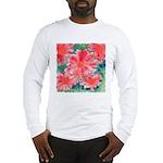 Watercolor Flowers Long Sleeve T-Shirt