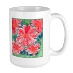 Watercolor Flowers Large Mug