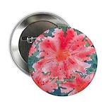 Watercolor Flowers Button