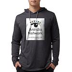 Aniridia Network logo & URL Long Sleeve T-Shirt