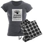 Aniridia Network logo & URL Women's Charcoal Pajam