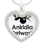 Aniridia Network logo & URL Necklaces