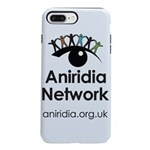 Aniridia Network logo & URL iPhone 8/7 Plus Tough