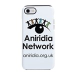 Aniridia Network logo & URL iPhone 8/7 Tough Case