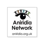 Aniridia Network logo & URL Sticker