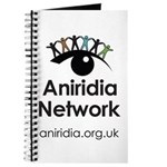 Aniridia Network logo & URL Journal