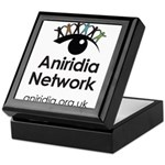 Aniridia Network logo & URL Keepsake Box
