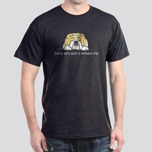 Adorable Bulldog Dark T-Shirt