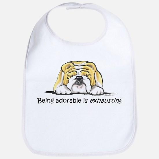 Adorable Bulldog Bib