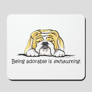 Adorable Bulldog Mousepad