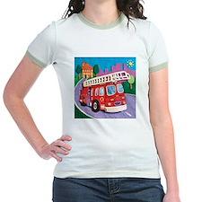 Fire Truck Jr. Ringer T-Shirt