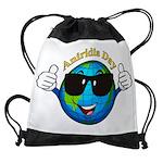 Aniridia Day Drawstring Bag