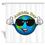 Aniridia Day Shower Curtain