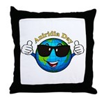 Aniridia Day Throw Pillow