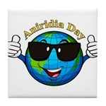 Aniridia Day Tile Coaster