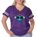Aniridia Day Women's Plus Size Football T-Shirt