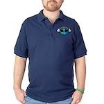 Aniridia Day Dark Polo Shirt