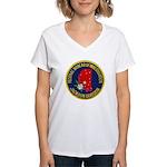 FBI Jackson Division Women's V-Neck T-Shirt