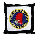 FBI Jackson Division Throw Pillow