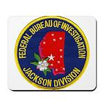 FBI Jackson Division Mousepad