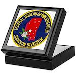 FBI Jackson Division Keepsake Box
