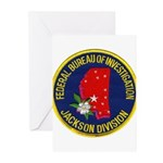 FBI Jackson Division Greeting Cards (Pk of 20)