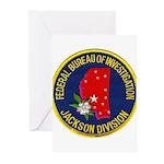 FBI Jackson Division Greeting Cards (Pk of 10)