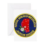 FBI Jackson Division Greeting Card