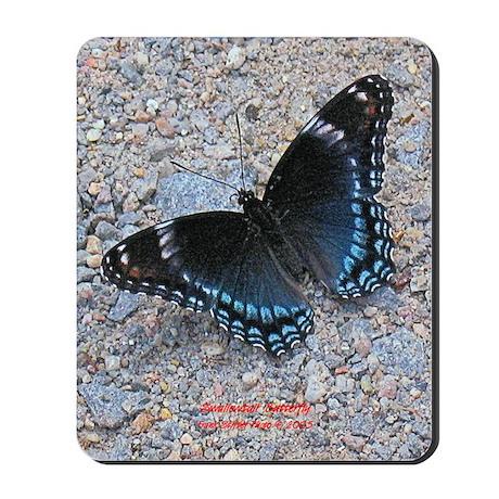 BLUE SWALLOWTAIL Mousepad