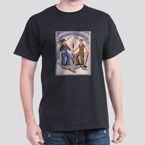 Gays Across America Black T-Shirt