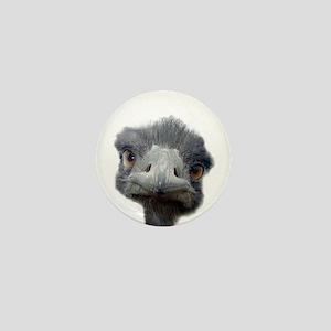 Ostrich Mini Button