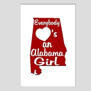 Everybody Loves an Alabama Gi Postcards (Package o