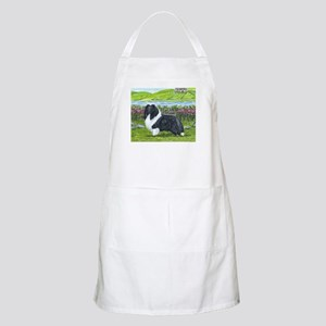 Bi Black Sheltie Apron