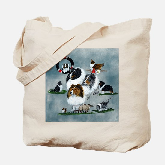 The Versatile Sheltie Tote Bag