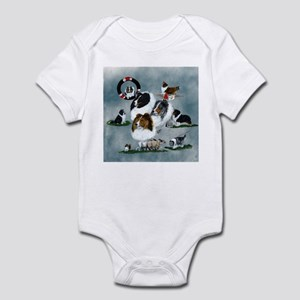 The Versatile Sheltie Infant Bodysuit