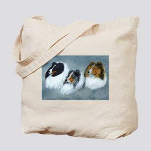 The Sheltie Face Tote Bag