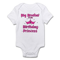 Big Brother 1st Birthday Prin Infant Bodysuit