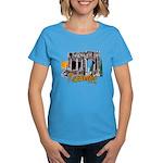 Women's T-Shirt (carribean blue)