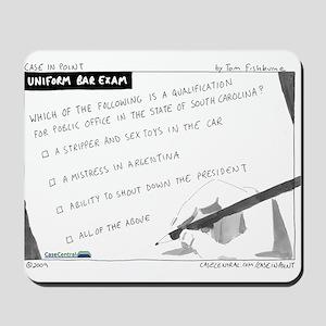 Uniform Bar Exam Mousepad