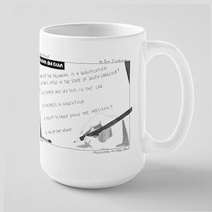 Uniform Bar Exam Large Mug
