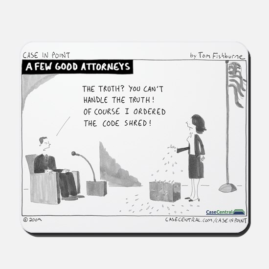 A Few Good Attorneys Mousepad