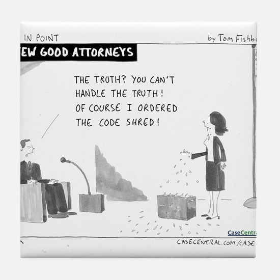 A Few Good Attorneys Tile Coaster