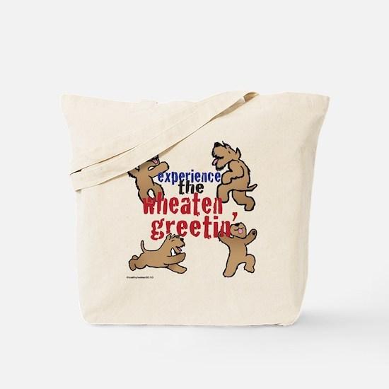 Wheaten Greetin' Tote Bag