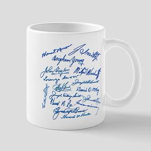 LDS Prophets Autographs Mug
