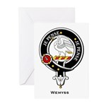 Weymss Clan Crest Greeting Cards (Pk of 10)