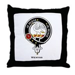 Weymss Clan Crest Throw Pillow