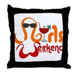 I'll Drink To That! Throw Pillow
