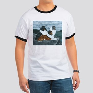 Shelties in the Mist Ringer T